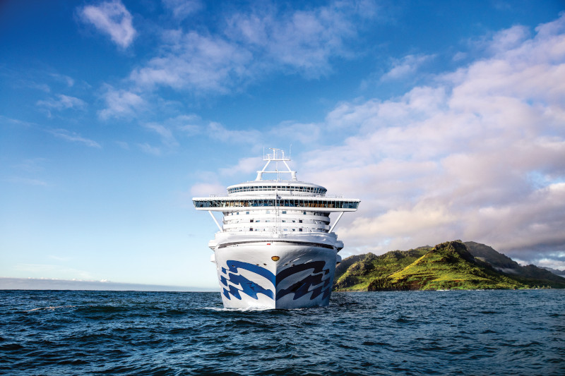 Grand Princess in Hawaii